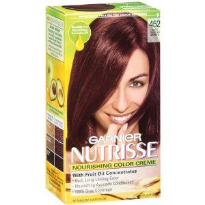 Garnier Nutrisse Haircolor 452 Dark Reddish Brown Chocolate Cherry