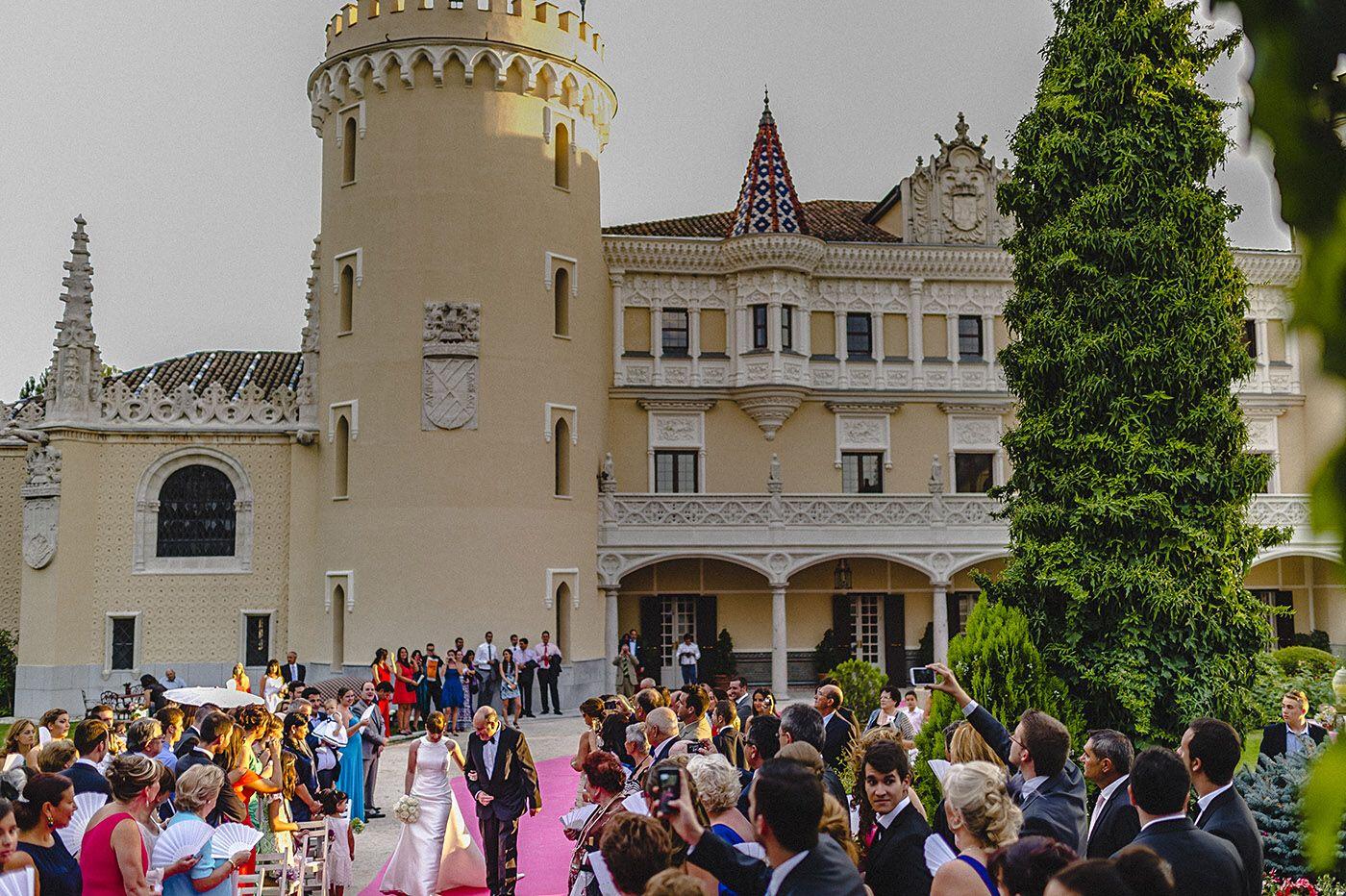 Ceremonia Castillo de Viñuelas - V&A