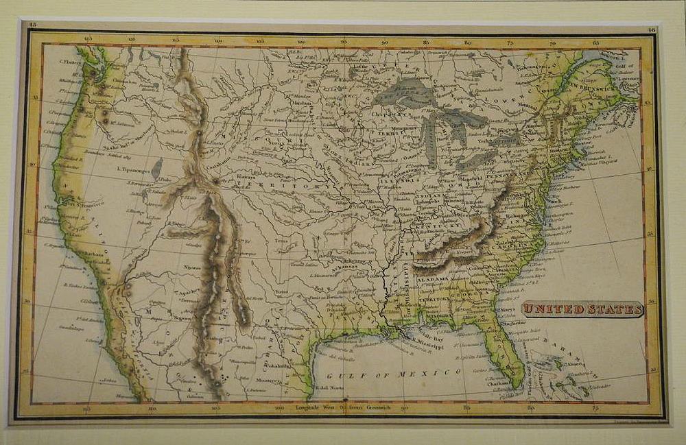 United States, R. Fenner, (Published: 1825. London) Unusual ...