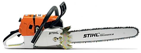 Ms660 Stihl Chain Saw One Of The Best Power To Weight Ratios In The Chain Saw Industry Intellicarb Compensating Carburetor De Stihl Chainsaw Stihl Chainsaw