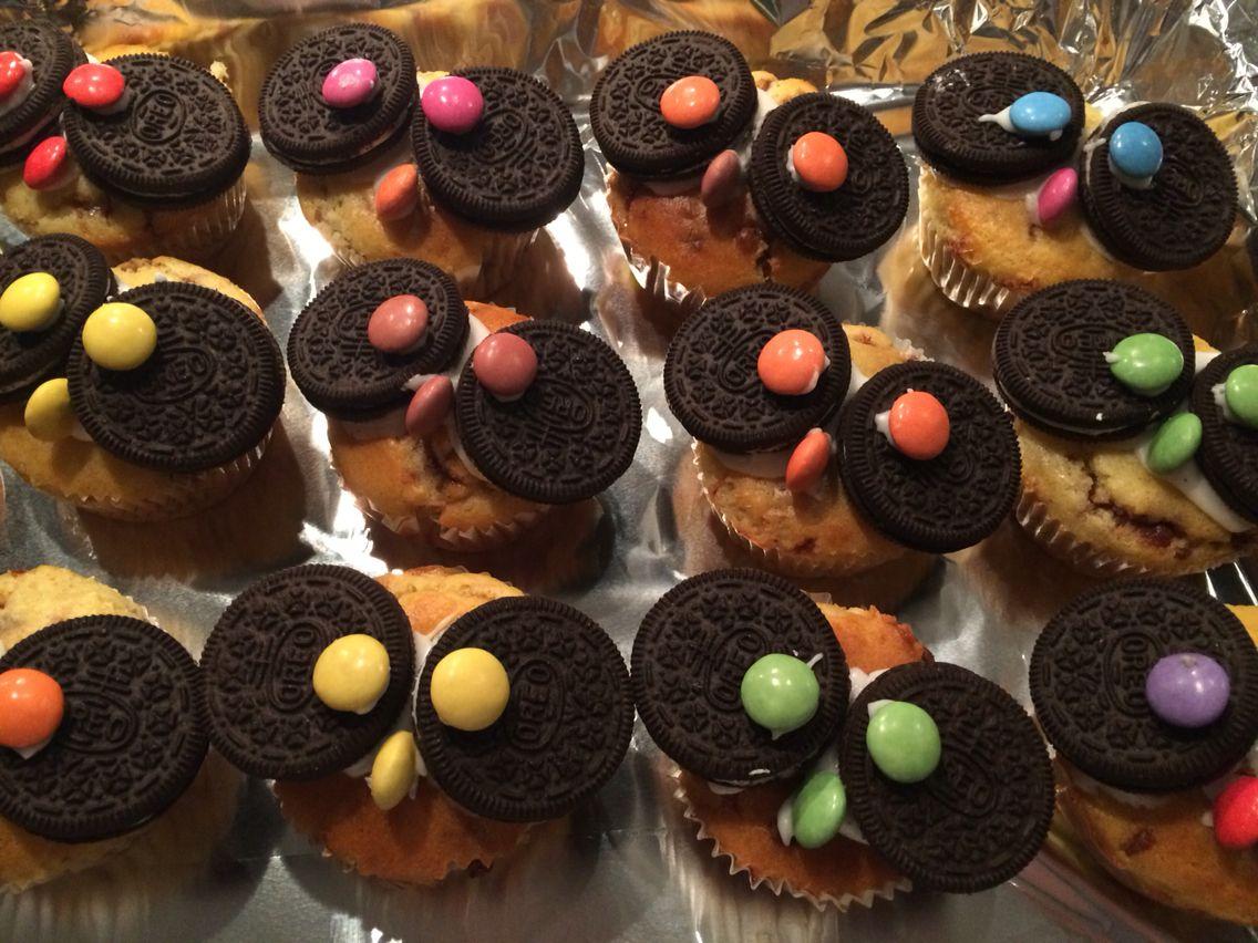 Oreo-Eulen-Muffins