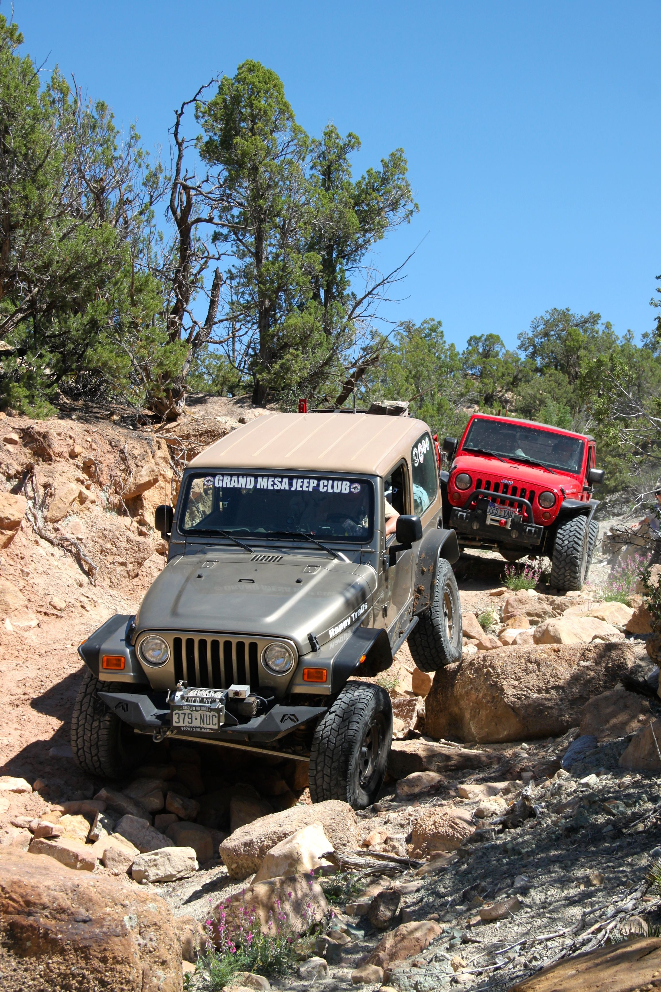 Jeep Trails Happy Trails On Gyration Wash Rock Junction 2014 The