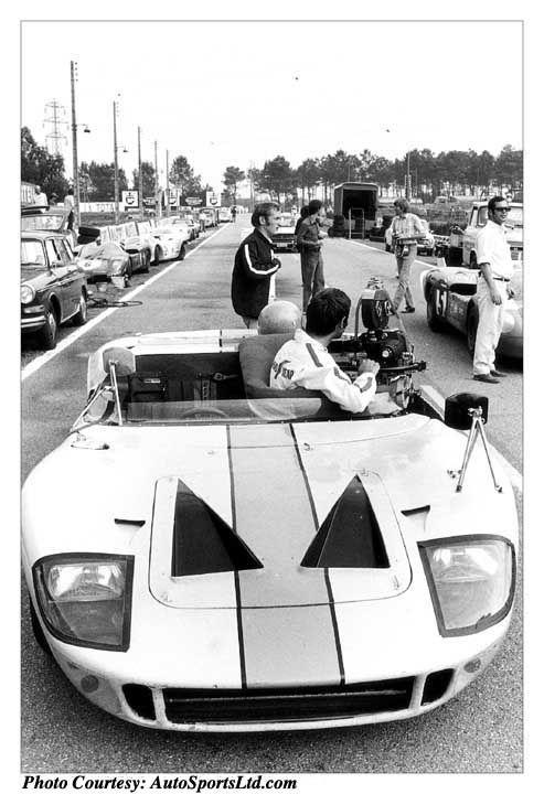 Le Mans Movie Camera Car Ford Gt Ford Gt40 Steve Mcqueen Cars