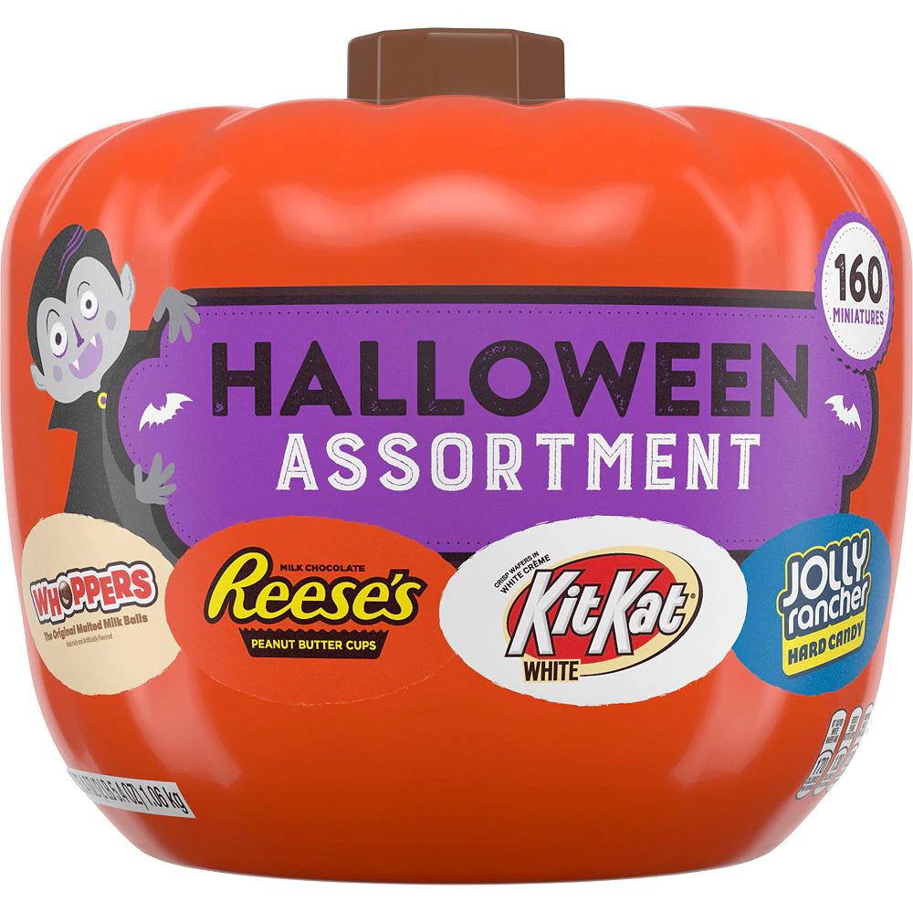 Hershey's Halloween Candy Assortment Pumpkin 160ct Party
