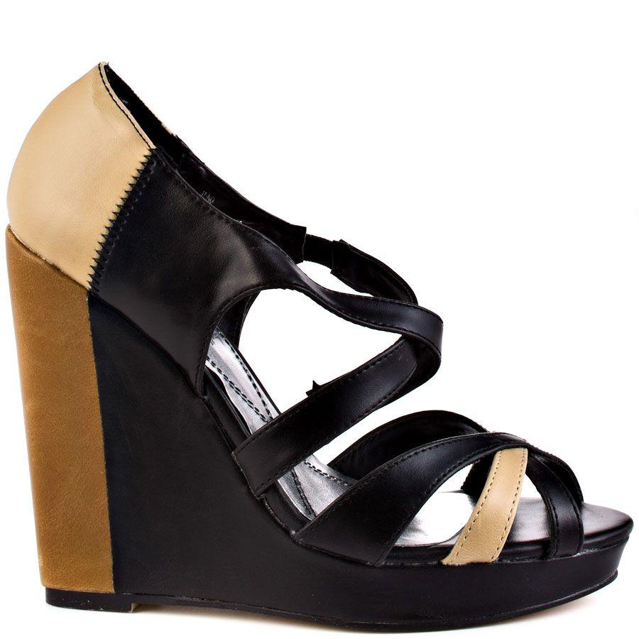 Juno heels Black and Tan brand heels Ba design by Phat