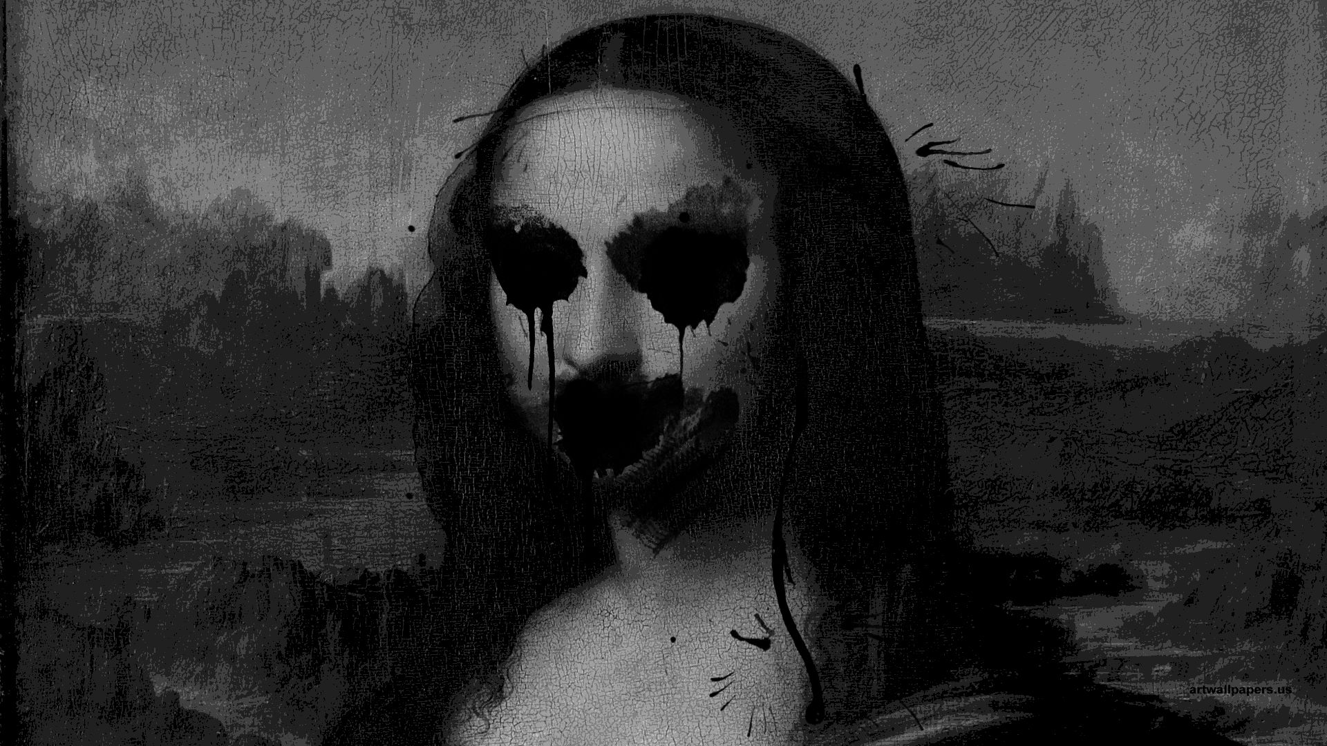 Creepy Art Home Browse All Creepy Mona Lisa Scary
