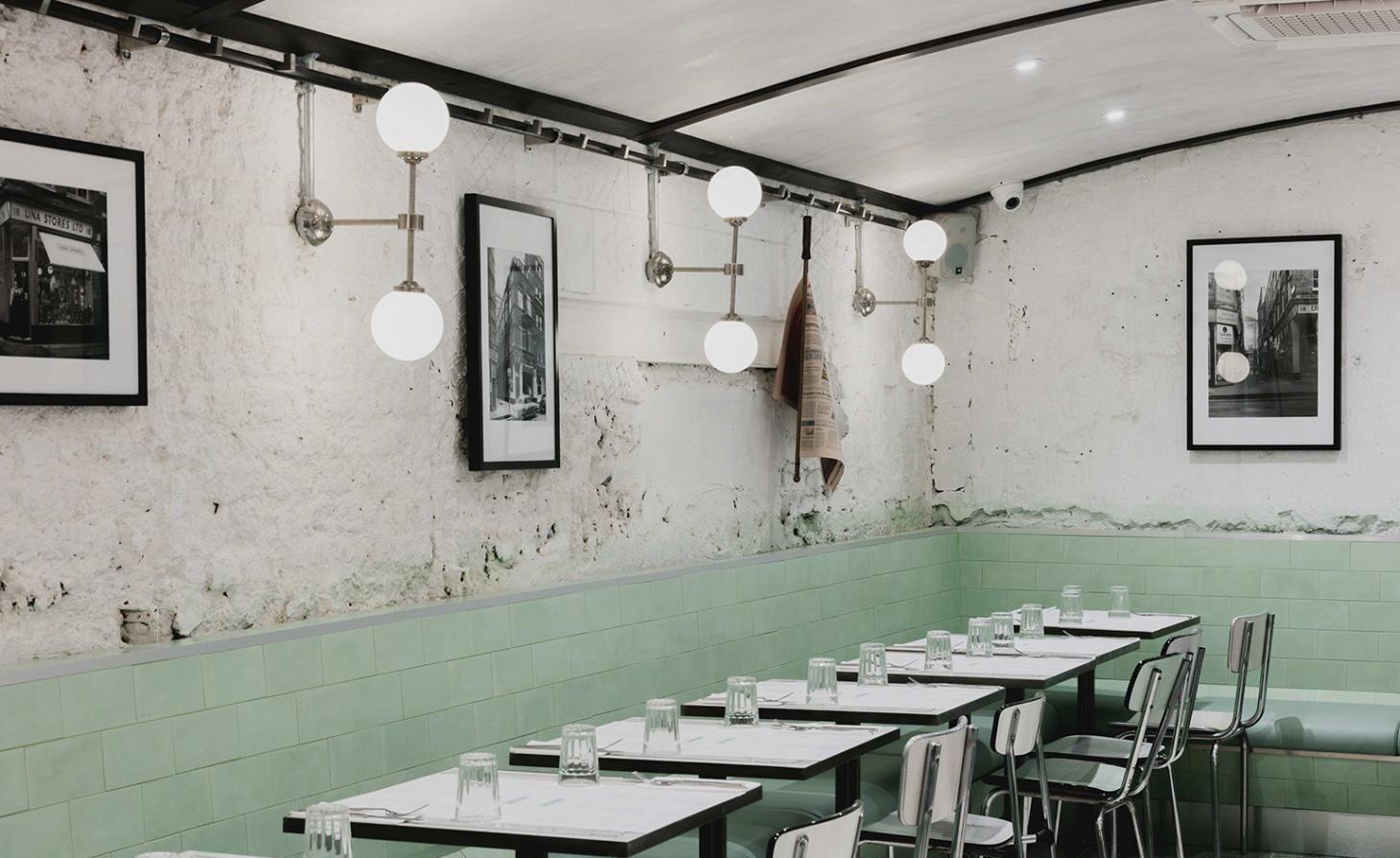Lina Stores — London, UK Cafe interior, Restaurant