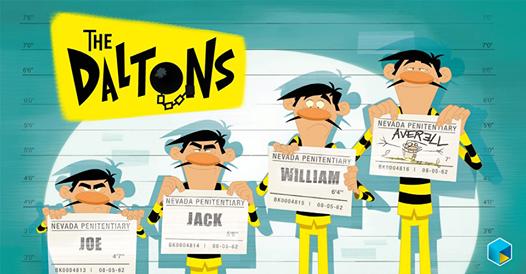 I fratelli Dalton, nemici storici di Lucky Luke, vivono rinchiusi in una prigione di massima sicurezza in Nevada e hanno un unico obiettivo: EVADERE. Segui le loro avventure animate su TIMvision #TheDaltons #LuckyLucke #Lucky #Lucke #Cartoon #Kids
