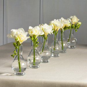 Palace Bud Vases Set Of 6 In Clear By Global Views.although Honestly You  Can Find Pretty Cheap Bud Vases At Michaelu0027s, A. Moore, Etc.