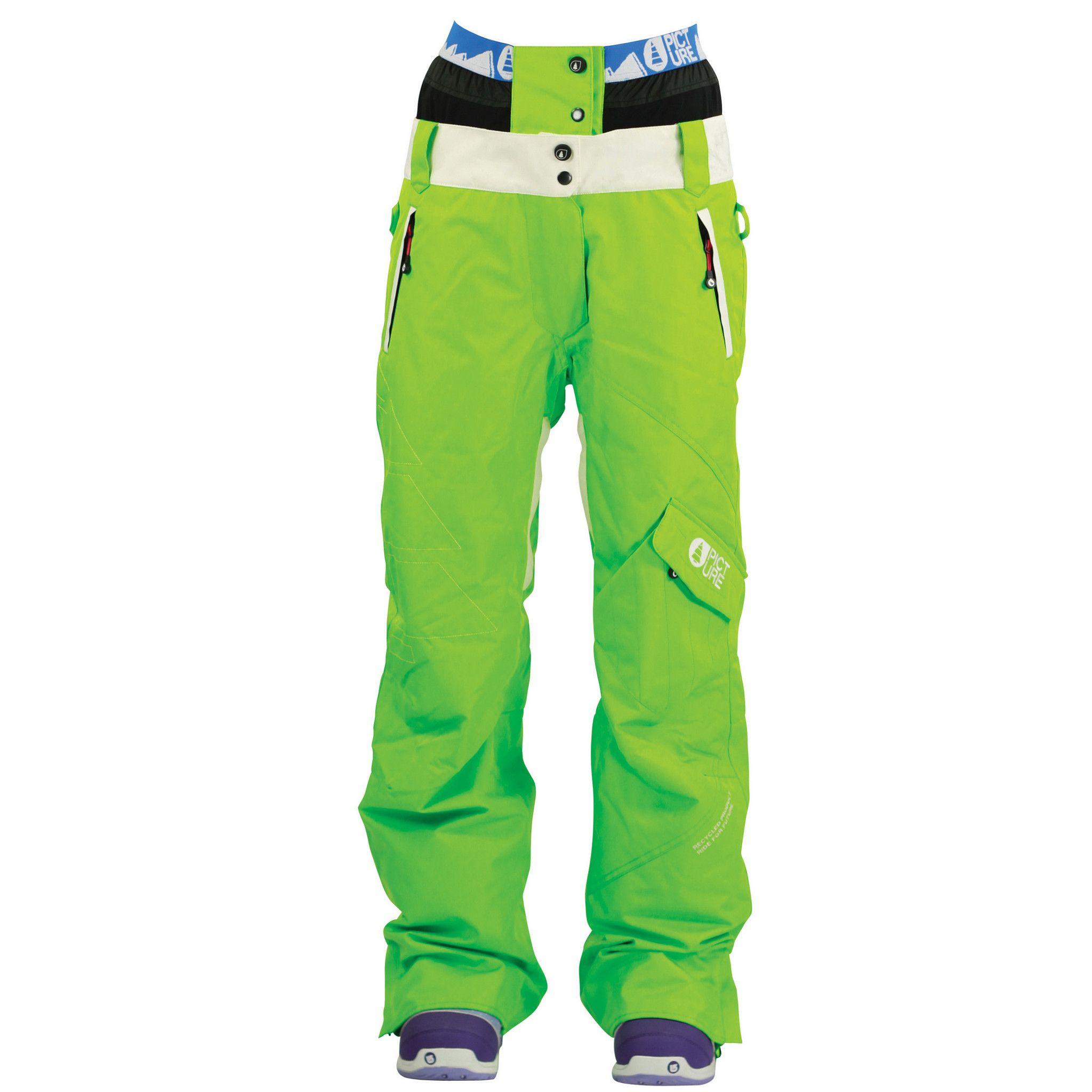 Ski Pants Green