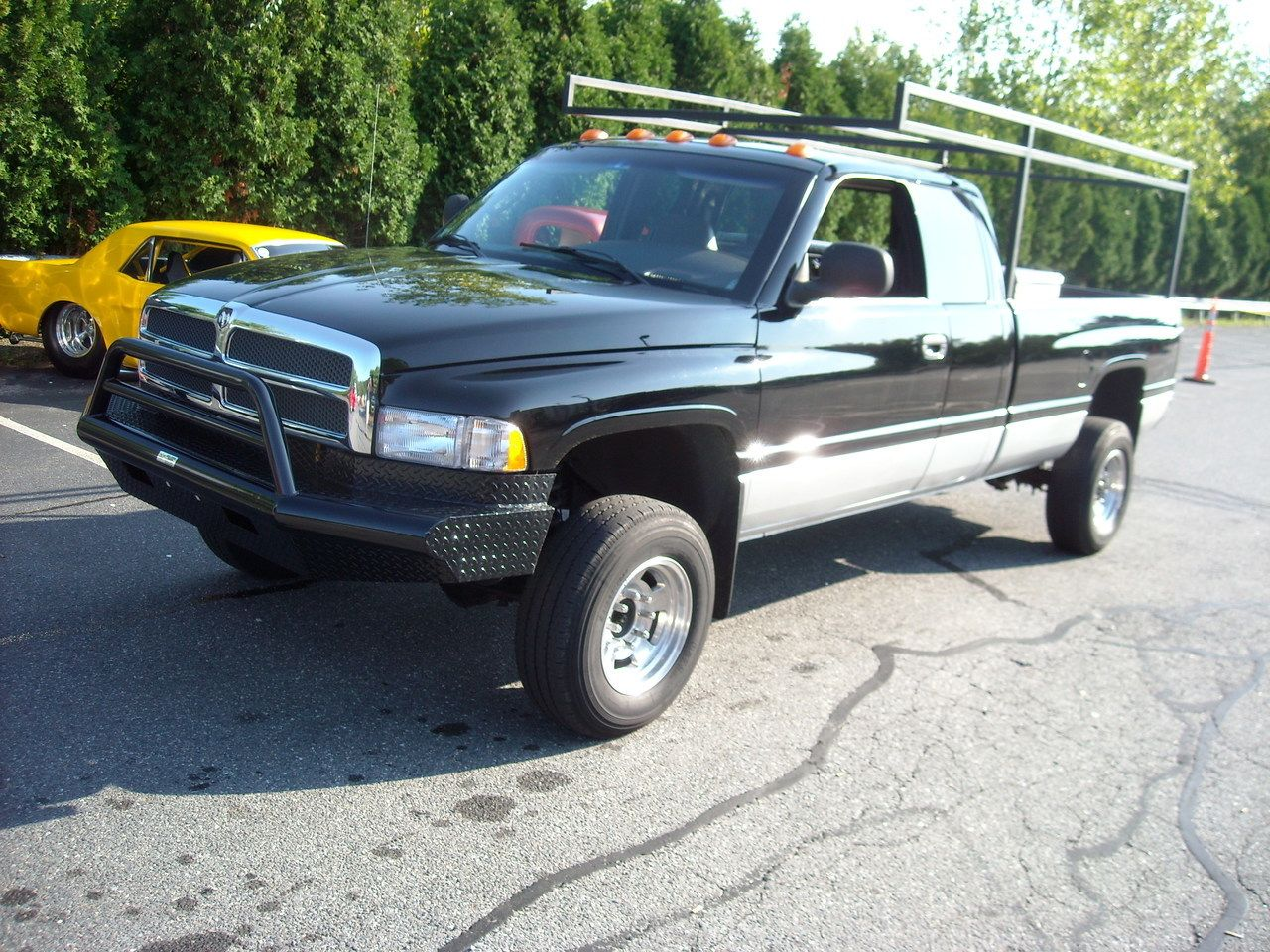 Tough country afr0025d apache front bumper dodge ram 1500 1996 2001