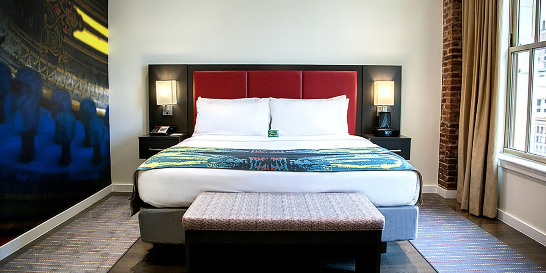 Hotel Indigo Newark Downtown Hotel indigo, Bedroom suite