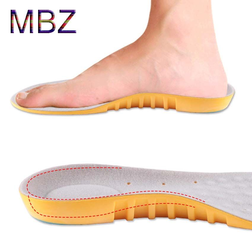 $14.00 (Buy here: http://appdeal.ru/7cx8 ) new style 2016 orthotic men insoles Arch Support Sport Sport Running Gel Insole Insert Cushion for Men Women shoe-pads brand 601 for just $14.00