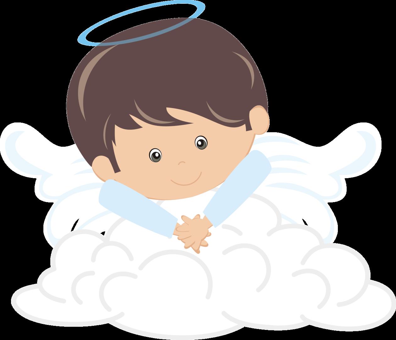 angel clipart boy - HD1260×1080