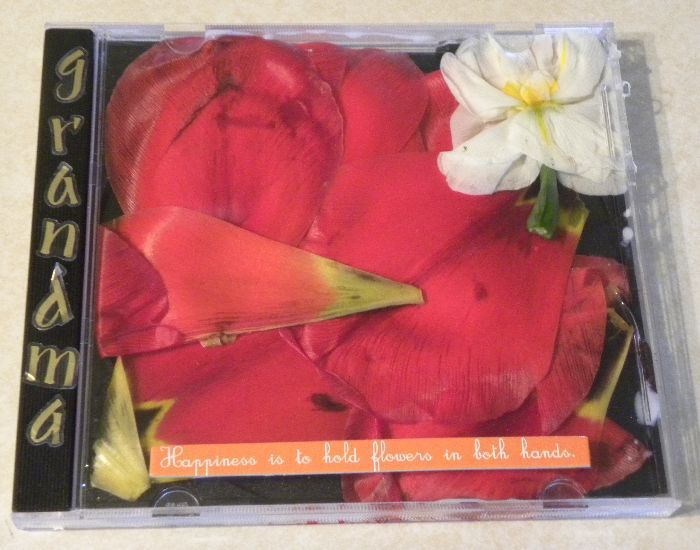 A plastic CD case makes a great customized card or collection display box!