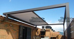 Toldos para terraza planos de veranda toldos veranda - Techar terraza atico ...