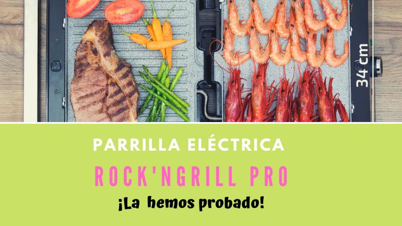 Mi Nueva Plancha Y Parrilla Rock Ngrill Pro Opinión Planchas Y Parrillas Platos De Carne Platos Con Pescado