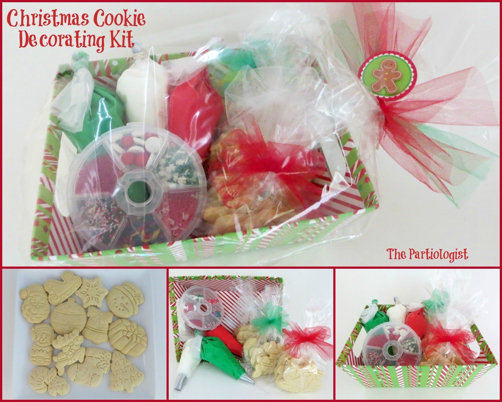 Christmas Cookie Decorating Kit! Cookie decorating