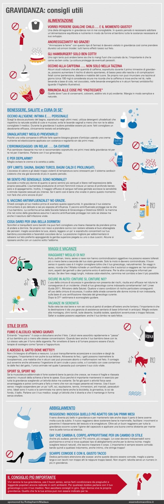 Gravidanza: consigli utili - Esseredonnaonline