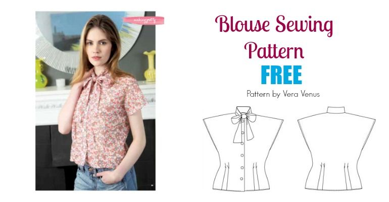Sewing Patterns For Tops Blouses Choice Image - origami instructions ...