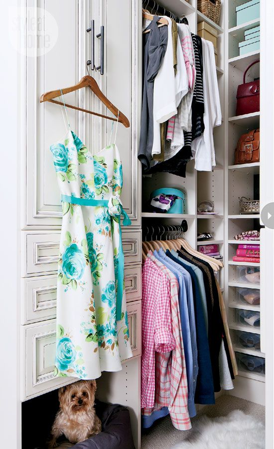 The perfect 'hers' closet. {Photography by Donna Griffith}