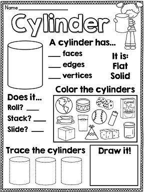 First Grade Math Unit 17 Geometry 2D and 3D Shapes | First Grade Fun ...