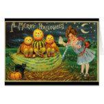 Vintage 1910 Halloween Greeting Card #halloween #happyhalloween #halloweenparty #halloweenmakeup #halloweencostume