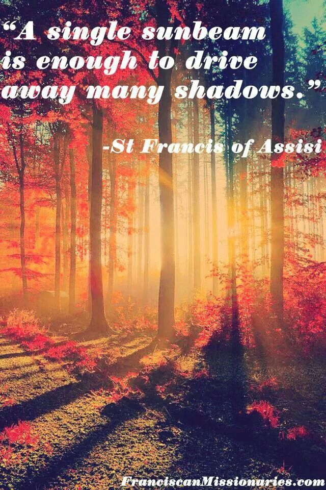 St. Francis of Assisi quote | Words To Live By | Pinterest ...
