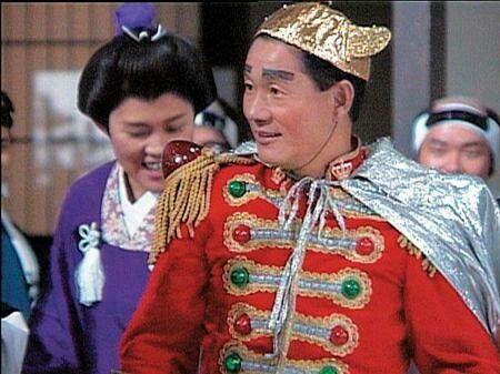 """Takechanman"" as Takeshi Kitano"