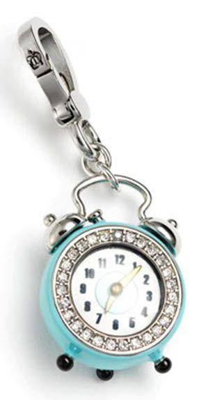 Juicy clock charm