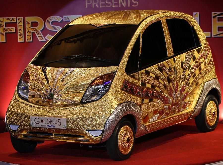 GoldPlus has created the first car made completely of gold! This car ...