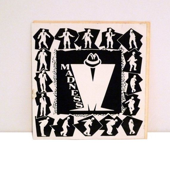 Madness band sticker 80s vintage logo ska dance by mohawkmusic