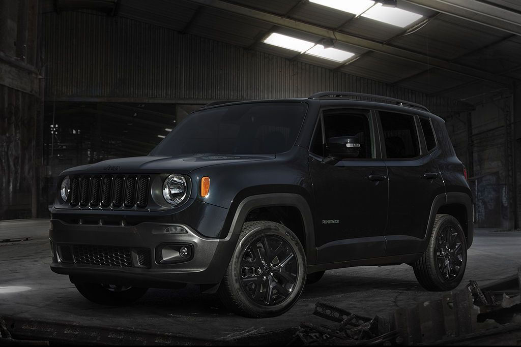 2016 Jeep Renegade Goes To The Dark Side With Batman V Superman
