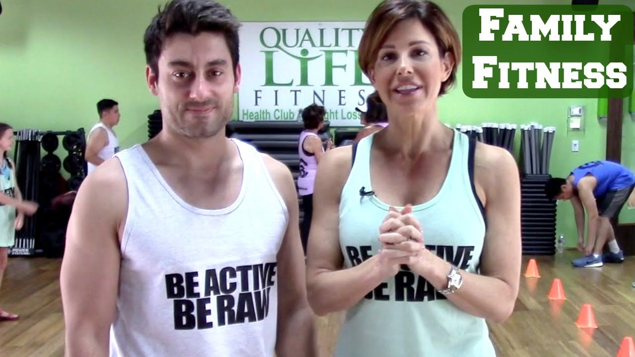 Fun Family Workout With Paul (With images) Short hair