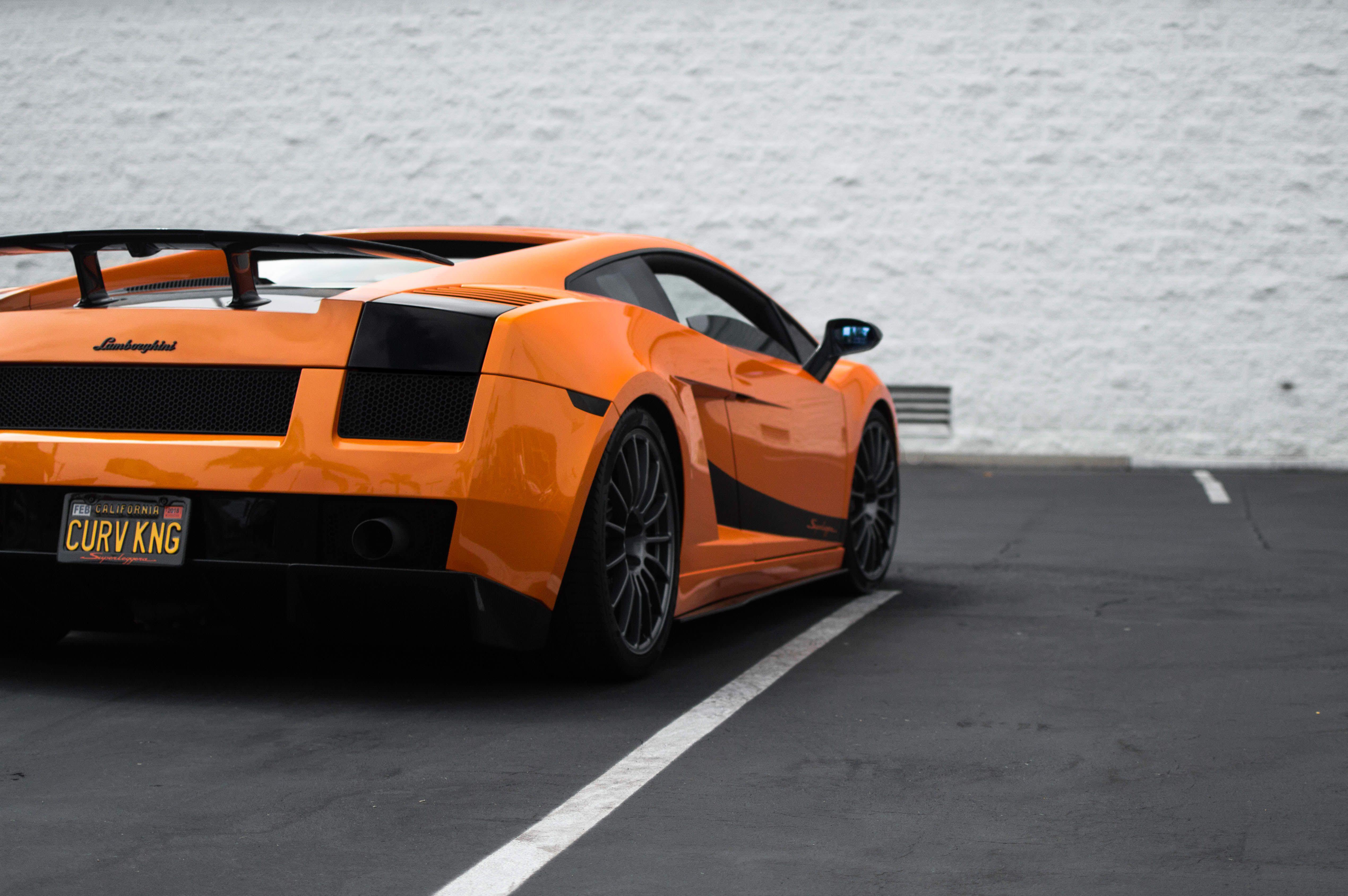 Orange Gallardo Superleggera [5100x3400] via