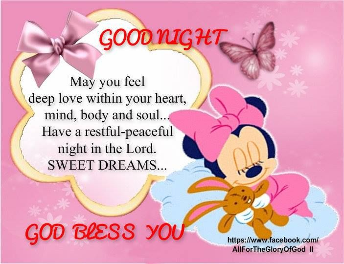 Good Night Sweet Bunnies From My Sweet Sister Teresa Escalera