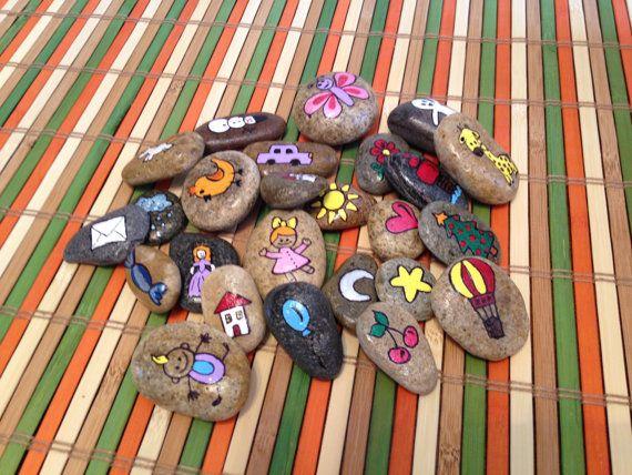 Story Rocks by OksanasCorner on Etsy
