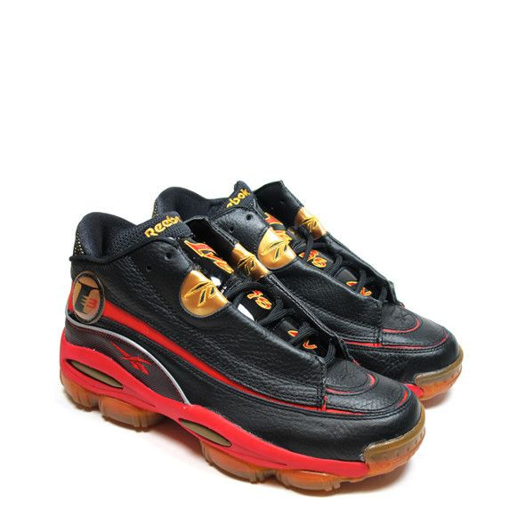 REEBOK THE ANSWER DMX 10 (BLACK RED-GOLD) - Allen Iverson was my favorite  player when he was in the league. I actually had all of his shoes in high  school. da8e29a2e