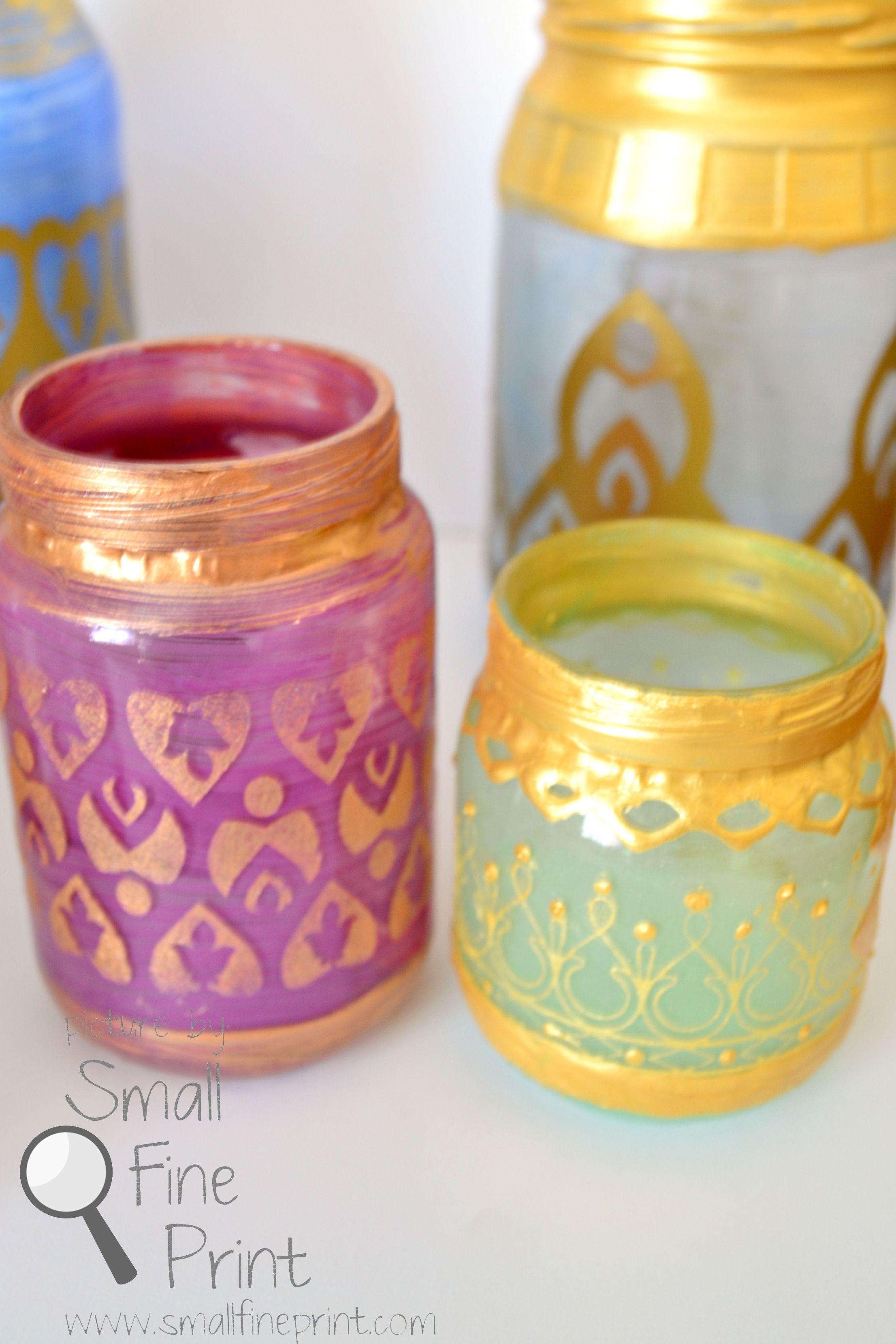 Party decoration ideas moroccan metal lantern - Diy Moroccan Votive Candle Lanterns