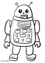 Disegni Di Robot Da Stampare E Colorare Gratis Portale Bambini Robot Coloring Coloringpages Disegni Da Colorare Disegni Da Colorare Per Bambini Disegni