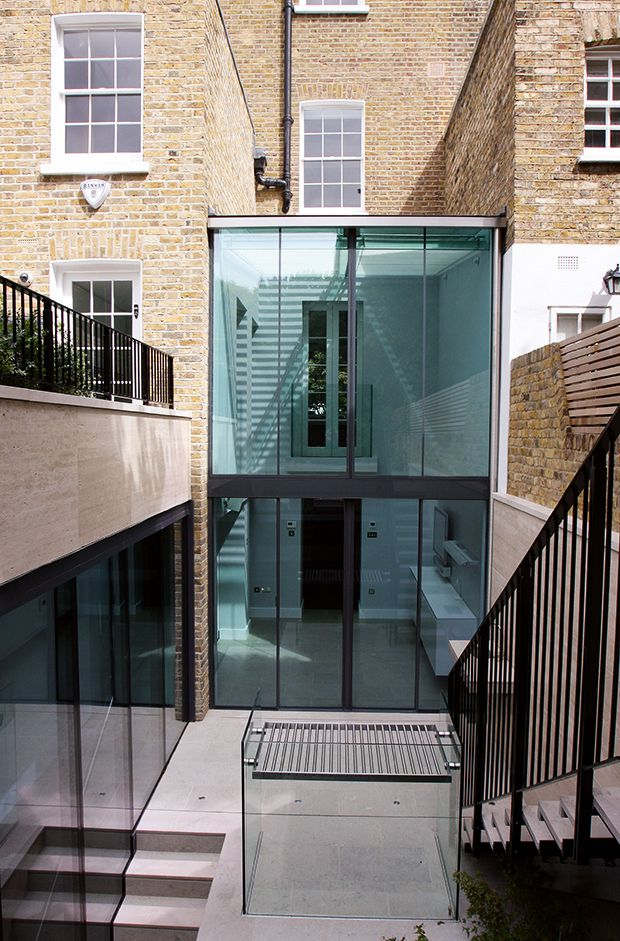 Glass box extension by IQ Glass] | Contemporary House Extensions ...