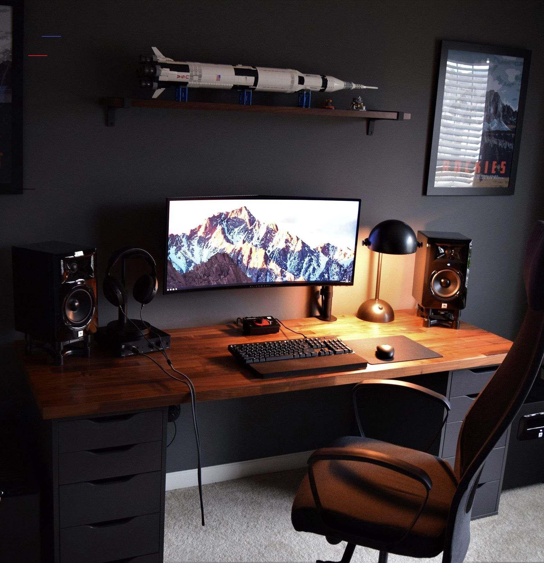 Best Homeoffice Desk: Jfox's Setup - #gamingdesk