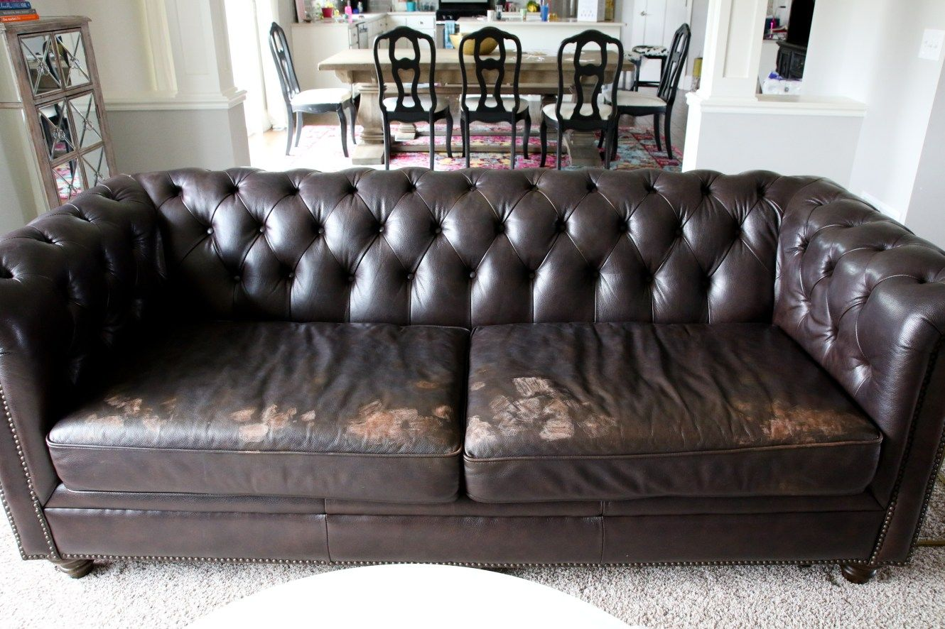 How to repair a leather sofa with images sofa leather