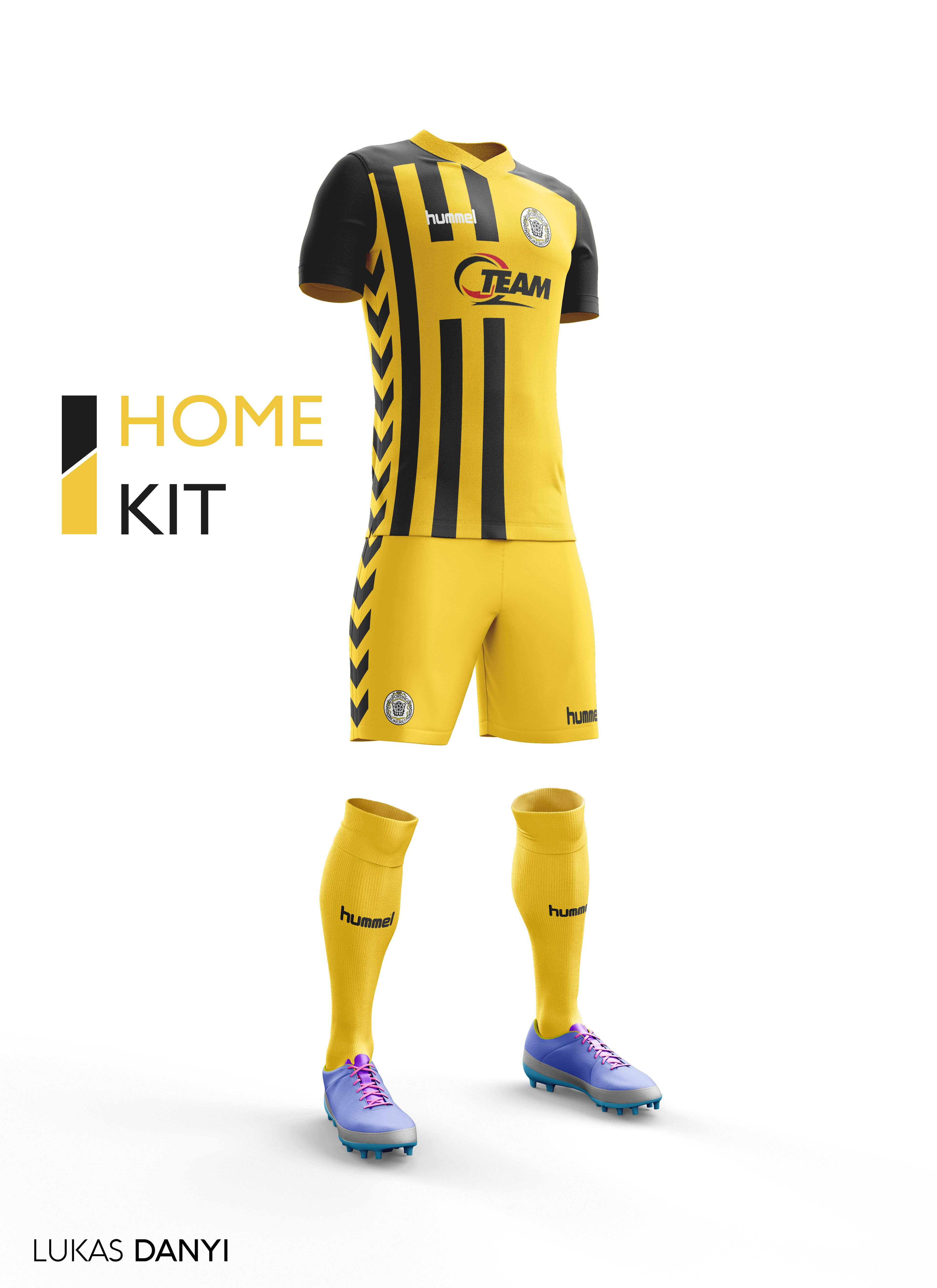 1d490826caa I decided to design all pro league teams their football kits but all in the  brand Hummel I hope you like it.