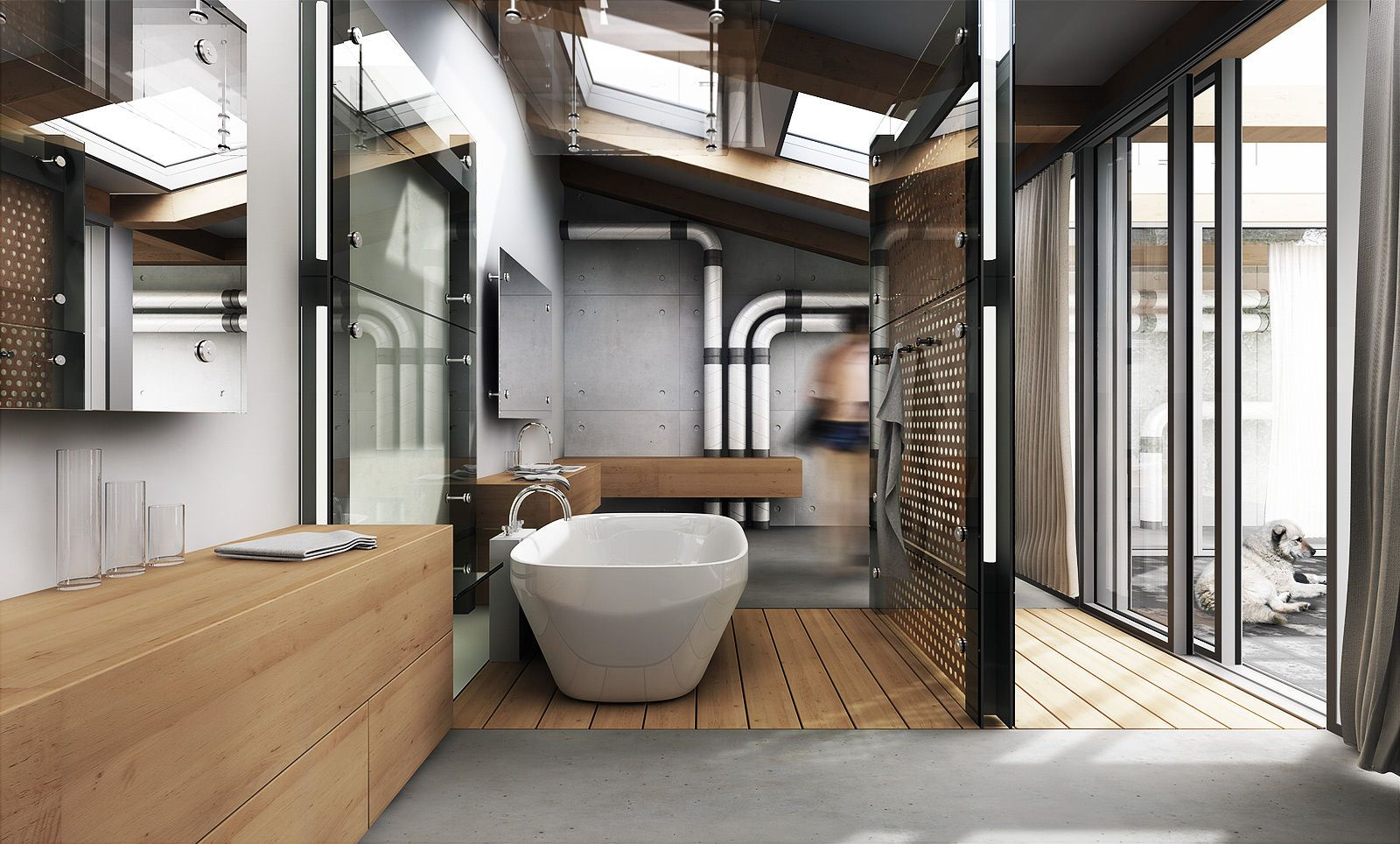 Top 8 Millionaire Bathrooms in the World | Industrial, 3d ...