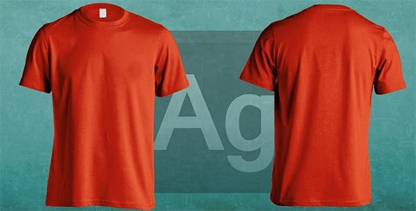 t shirt template psd free download
