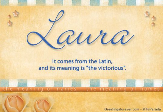 24+ Laura name meaning bible information