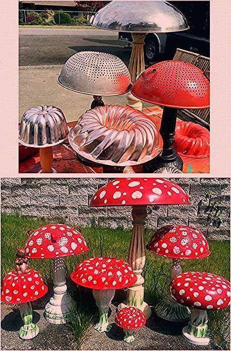 Photo of Garden art diy – Yard Art Mushrooms 58+ Ideas