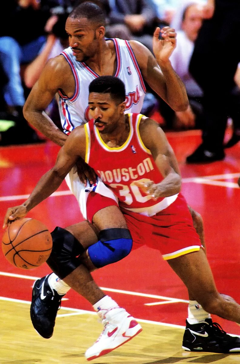 Kenny Smith vs Ron Harper Sports images, Basketball