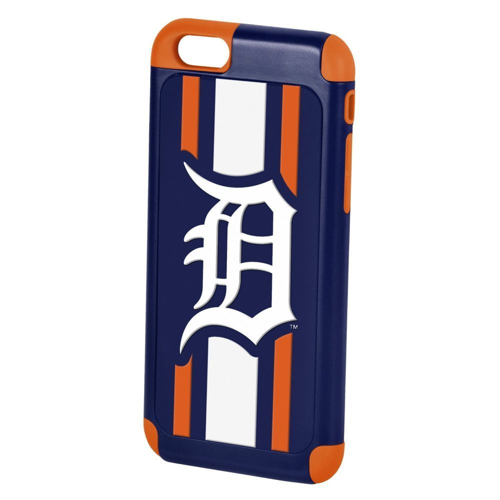 iPhone 6 4.7 Detroit Tigers Hybrid TPU Ruggedized Case for Forever Collectibles #ForeverCollectibles
